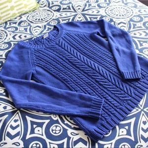 J. Crew Cotton Cable Sweater